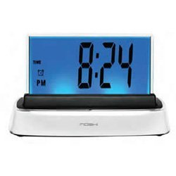 Moshi Interactive Voice Responsive Alarm Clock by (I Sound Time Travel Alarm Clock)