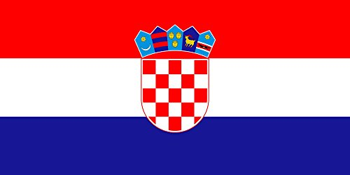 - Croatia Flag from SoCal Flags 3x5 Foot Polyester Weather Resistant Durable - 100d Material Not See Thru Like Other Brands
