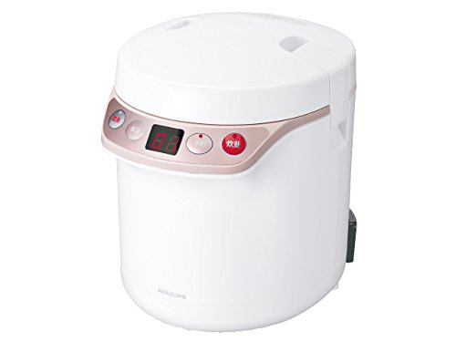 KOIZUMI Rice cooker 0.5 to 1.5 Go (about 90 ~ 270m) KSC-1511/W (White) by Koizumi