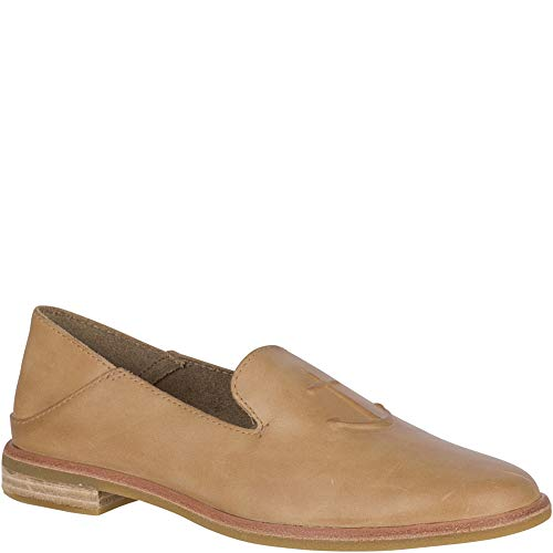 Sperry Women's Seaport Levy Anchor Loafer, tan, 8.5 M US