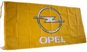 OPEL Flag Banner 5' x 2.5' Adam Corsa Astra Insignia Meriva Mokka Antara