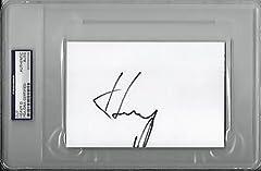 "HEAVY D SIGNED 4""x6"" INDEX CARD RAP HIP HOP PSA/DNA ENCAPSULATED 83706108"