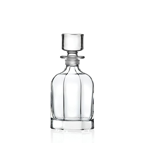 Lorren Home Trends 515550 Chic Whiskey Bottle, One Size, Clear by Lorren Home Trends