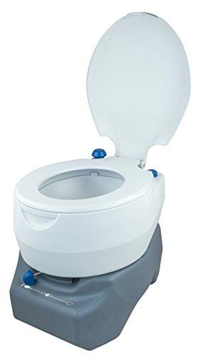 Campingaz Campingtoilette, Chemietoilette, chemische Toilette mit antimikrobiellem WC-Sitz und Schüssel & Instapink 1…