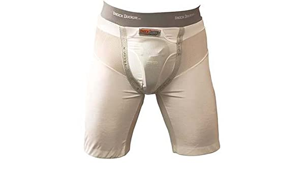 NEW Men/'s Small Compression Shorts With Protective Cup Shock Doctor