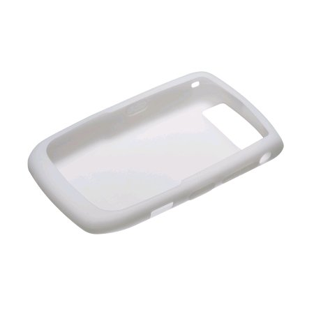 OEM White Soft Flexible Durable Gel Skin Silicone Case for Blackberry Curve 8900 Javelin