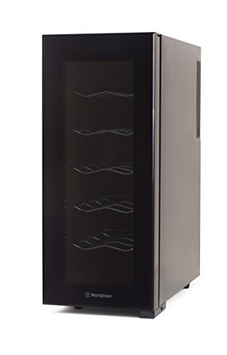 Best Deals! Westinghouse WWT120MB Thermal Electric 12 Bottle Wine Cellar, Black