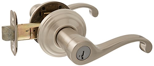 Kwikset 740CHL-15SR Commonwealth Entry Door Lock Smart Key Satin Nickel Finish