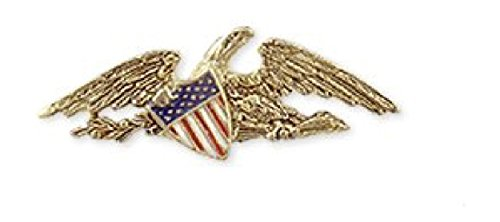 antique-gold-finish-patriotic-american-eagle-flag-lapel-pin-with-crest-museum-jewelry-crafted-in-usa