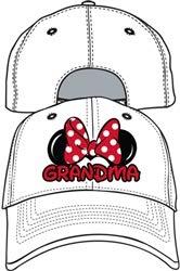 Disney Adult Hat Grandma Fan White
