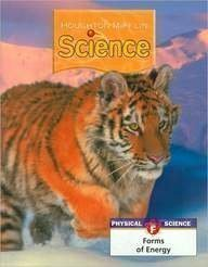Houghton Mifflin Science: Modular Softcover Student Edition Grade 5 Unit F: Forms of Energy 2007