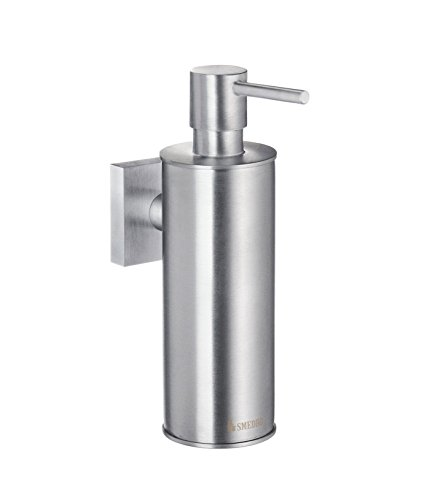 Smedbo SME RS370 Soap Dispenser Wallmount, Brushed Chrome