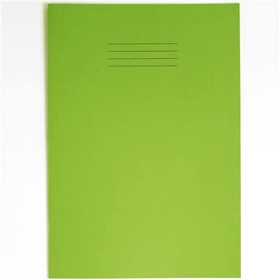 RHINO F8M 64 Blatt Schulheft, A4, Grün, 10 Stück