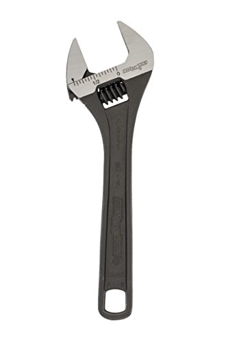 (Channellock 806NW Adjustable Wrench Black Phosphate Coated,)