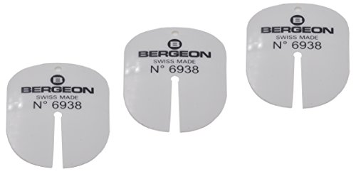 Bergeon Dial Protecting Plastic Sheets Set of 3 Swiss Made No. 6938