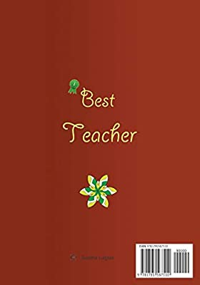 Buy Teacher Appreciation: A Wonderful Teacher: Great Gift as