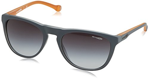 Arnette Moniker Unisex Sunglasses - 2311/8G Matte Grey/Orange/Grey - Sunglasses Arnette