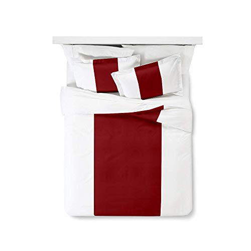 Bedding Overseas Classic Design Duvet Cover Set 100% Cotton 3 Piece Duvet Cover Set (1 Duvet Cover + 2 Pillow Shams) with Zipper Closure & Corner Ties Twin/TwinXL (5 - Jose San Bed Set Sharks