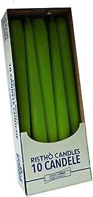 Risthò 56213_44 Candles, Wax, Moss Green, One Size