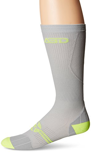 ABD ATHLETE INC. Plus Size Compression Socks 4 Wide Calf, Big and Tall, Men & Women 15-20 mmHg Reduce Pain Swelling. Maternity Nurse Travel Diabetic & Medical (WF XL, GREY)