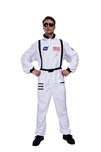 Astronaut Costume Adult - Maxim Party Supplies Men's Astronaut Adult