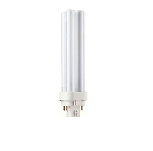 Philips Alto PL-C Energy Saver Compact Fluorescent Light Bulb: 1800-Lumen, 3500-Kelvin, 26-Watt, 4-Pin G24-3 Base, Cool White, 10-Pack
