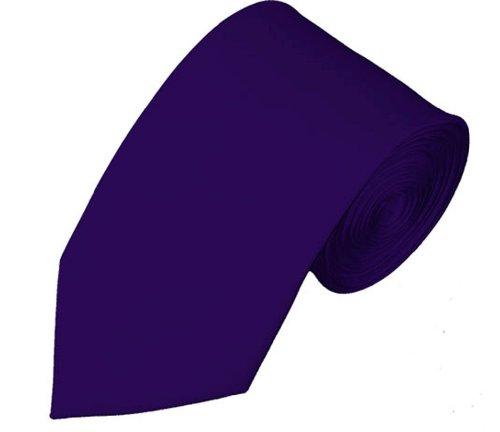 """Mens Solid Color 2.75"""" Slim Tie"""