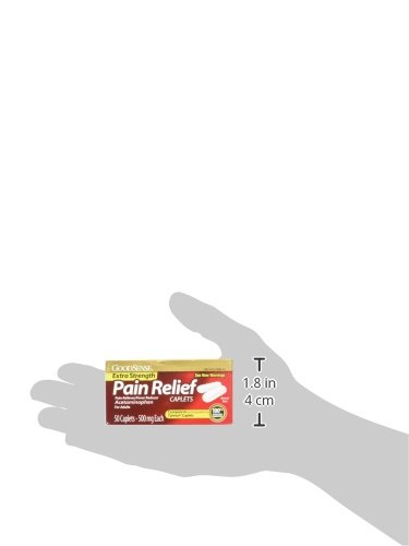 GoodSense Extra Strength Pain Relief, 500 mg Acetaminophen Caplets, 50 Count by Good Sense (Image #7)