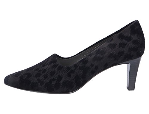 De Vestir Peter Para Cuero Kaiser Negro Mujer Zapatos qPEEC7w