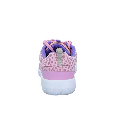 Sneakers HM-3005 Mädchen Schnürhalbschuh Rot (Pink)