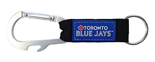 - Pro Specialties Group Toronto Blue Jays Premium Carabiner Keychain Bottle Opener Combo Baseball