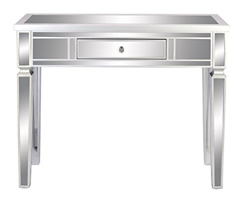 - Deco 79 85960 Wood Mirror Console Table, 42
