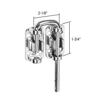 2 1 8 Quot Stainless Steel Sliding Door Loop Lock Amazon Com