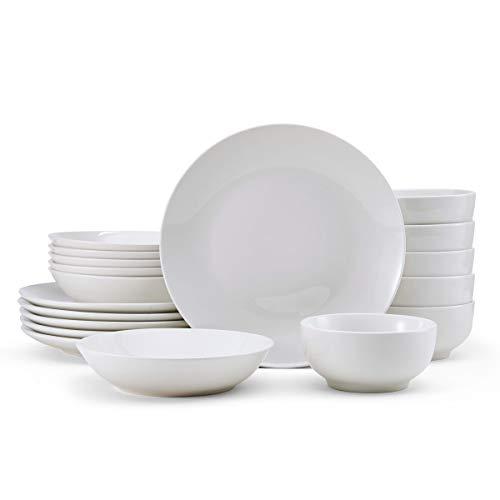 Studio Nova Porcelain 18-Piece Dinnerware Set, Service For 6, Alexis