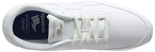 Reebok Royal Classic Jogger 2l, Zapatillas De Deporte para Hombre Blanco (White / White / Steel)