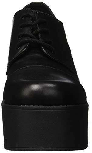 Up Shoes Smith Windsor Lace Black Woman's Black Leather xwAq1U7Cq