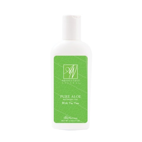 Absolutely Natural Pure Aloe Recovery Gel - With Tea Tree Oil by Absolutely Natural