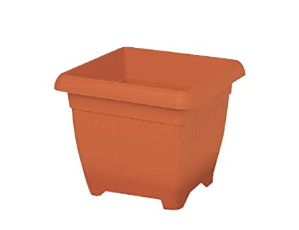 Amazon.com: Manna Quadro Similcotto 105238 Plant Pot 50 X 50 ...