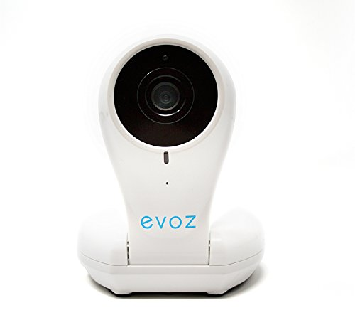 Evoz Vision WiFi Video Baby Monitor | Unlimited Range | Cry Detection 720p HD Camera by Evoz