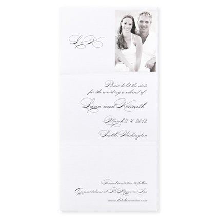 (Captivated Save The Date Cards)