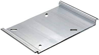 attwood SP-15100 Swivl-Eze Bench-Style Aluminum Utility Jon Boat Seat Mount  Plate