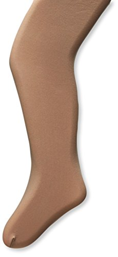 Dance Footed Tight (Capezio Little Girls' Ultra Soft Self Knit Waistband Footed Tight, Carmel, One Size (Toddler 2-6))