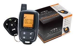Avital 3305L 2-Way LCD