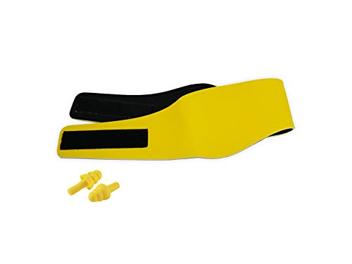 Swim Ear Plugs & Headband for Kids | Baby, Infant, Toddler Headbands | Swimming EarPlugs & Ear Cover| Keep Ear Plug in Place Headband By DiyerClub