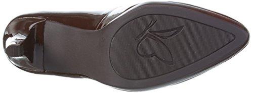 Caprice 22410, Zapatos de Tacón para Mujer Marrón (BROWN PATENT 366)
