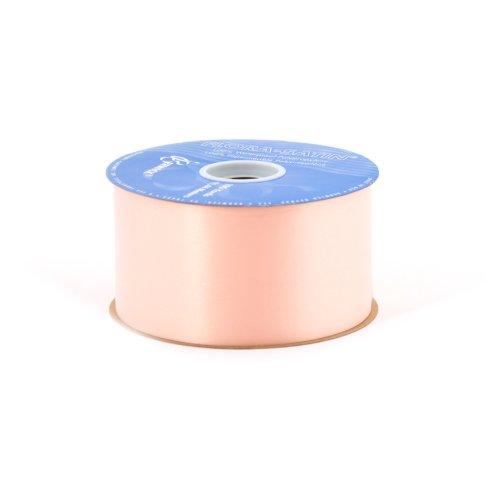 - Berwick 2-3/4-Inch Wide by 100-Yard Spool Flora Satin Craft Ribbon, Peach