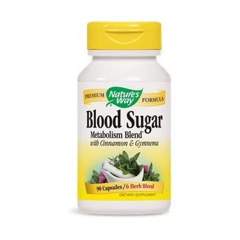 Amazon Com Blood Sugar Metabolism Blend Nature S Way  Caps