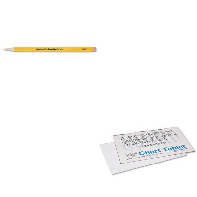 KITPAC74720PAP3030131 - Value Kit - Pacon Chart Tablets w/Manuscript Cover (PAC74720) and Paper Mate Sharpwriter Mechanical Pencil (PAP3030131) (Pac74720 Chart)