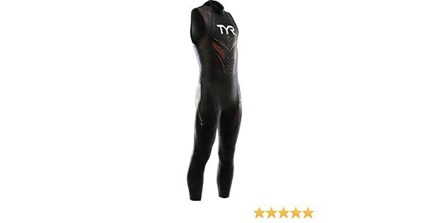 078105009c2a6 Amazon.com  TYR Sport Men s Hurricane Sleeveless Wetsuit Category 5  Sports    Outdoors