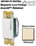 Leviton Acenti Incandescent / Mag Low-Voltage Dimmer - Driftwood ACM10-1L-DFT